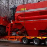 transport of agricultural maschine